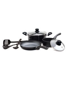 Starbasix 8-Piece Non-Stick Cookware Set