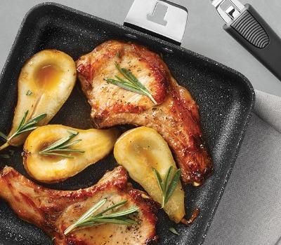 Casserole de porc et poires