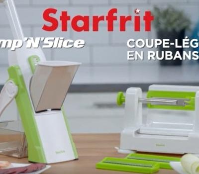 Pump'n'Slice & Coupe-Légumes en Rubans