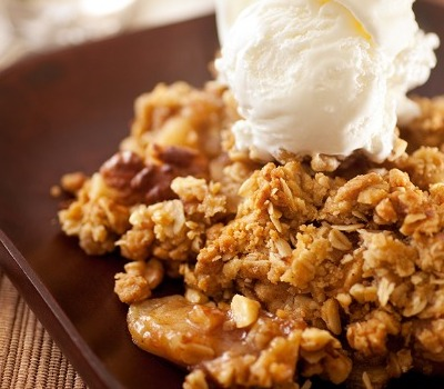 Apple Crisp (in pressure cooker)