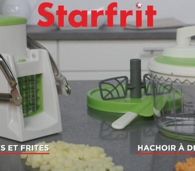 Pub TV Coupe Frites et Cubes + Hachoir PRO