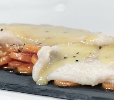 Pangasius Filets with Orange Sauce