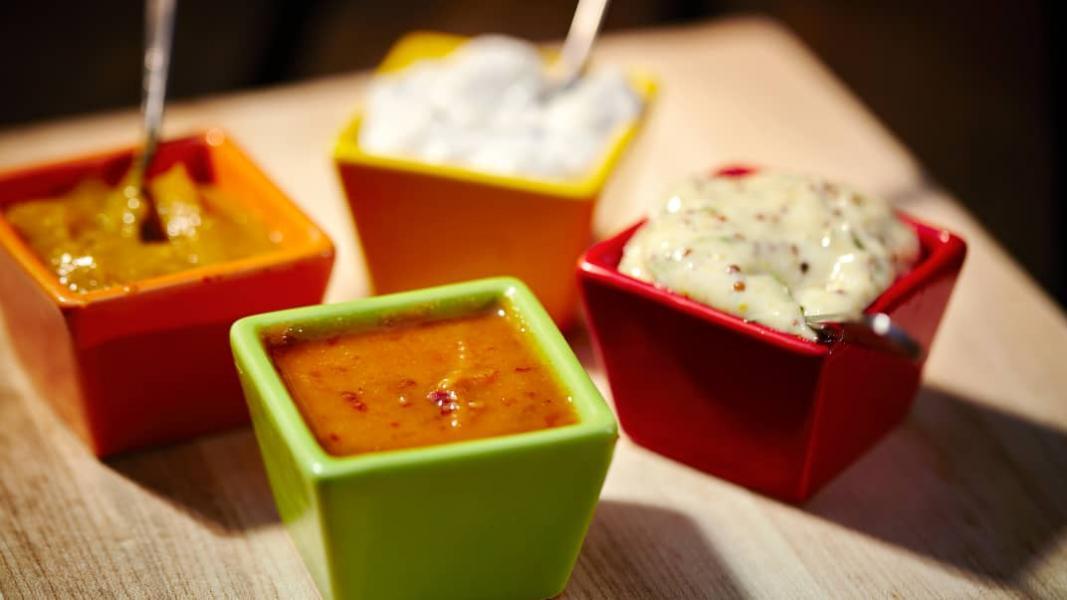 4 sauces pour brochettes
