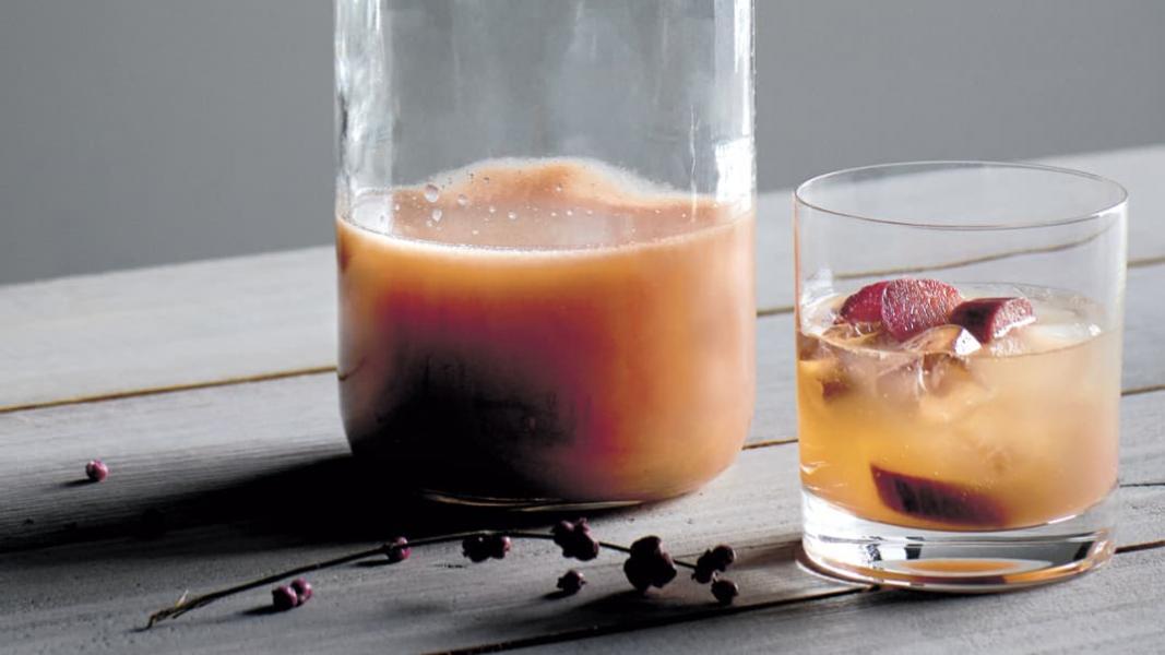 Alcool de rhubarbe
