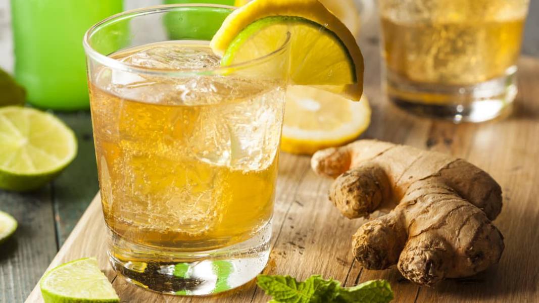 Bière IPA et soda gingembre style TWIST SHANDY