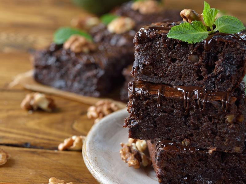 Brownies Fondants