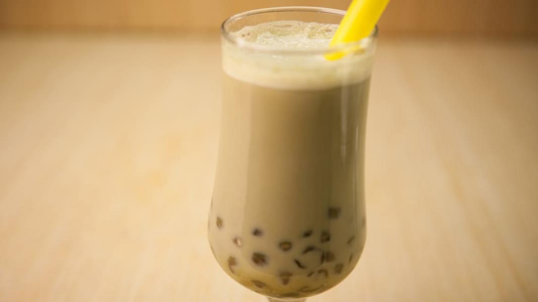 « Bubble tea » au tapioca