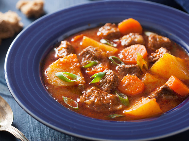 Pressure Cooker Beef and Vegetable Stew