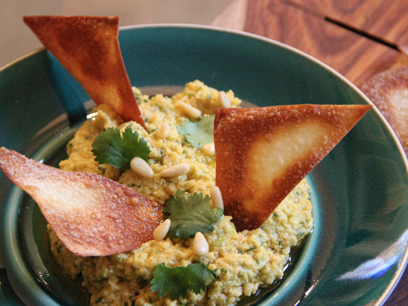 Chick Peas and Sesame Hummus