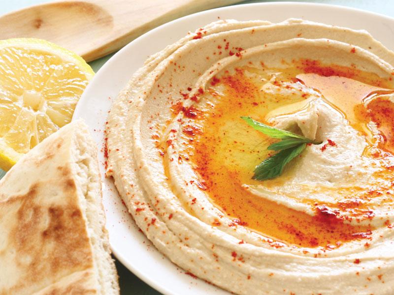 Hummus aux tomates séchées