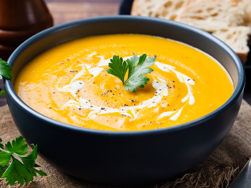 Coconut Curry Butternut Squash Soup