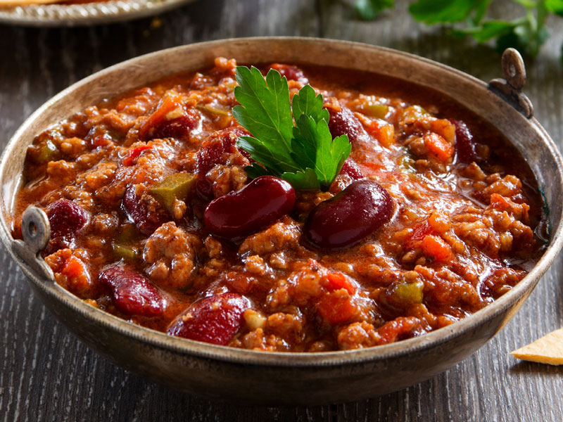 Beef and Beans Chili