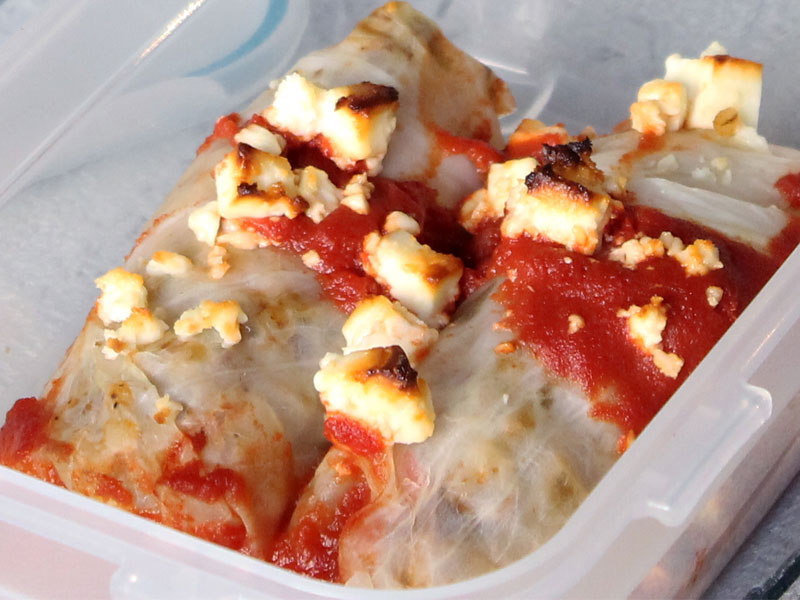 Beef and Pork Cabbage Rolls