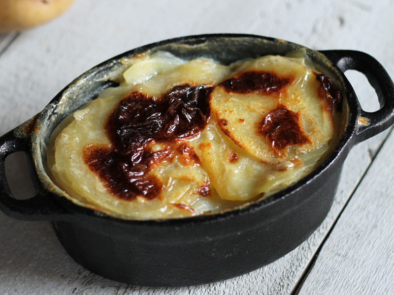 Traditional Dauphinois Gratin