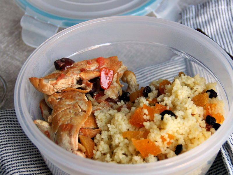Chicken Filet Couscous