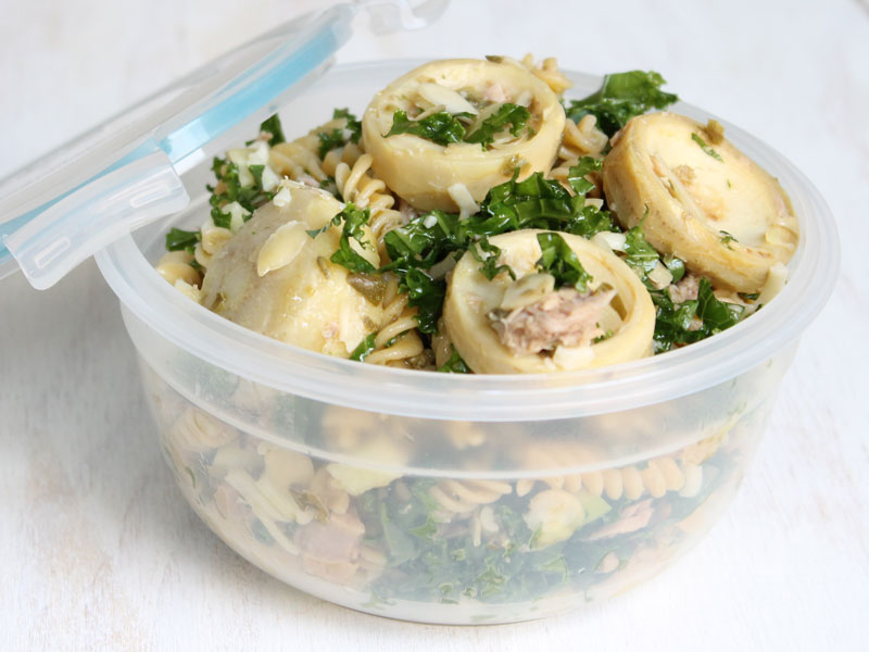 Tuna Fusilli Salad