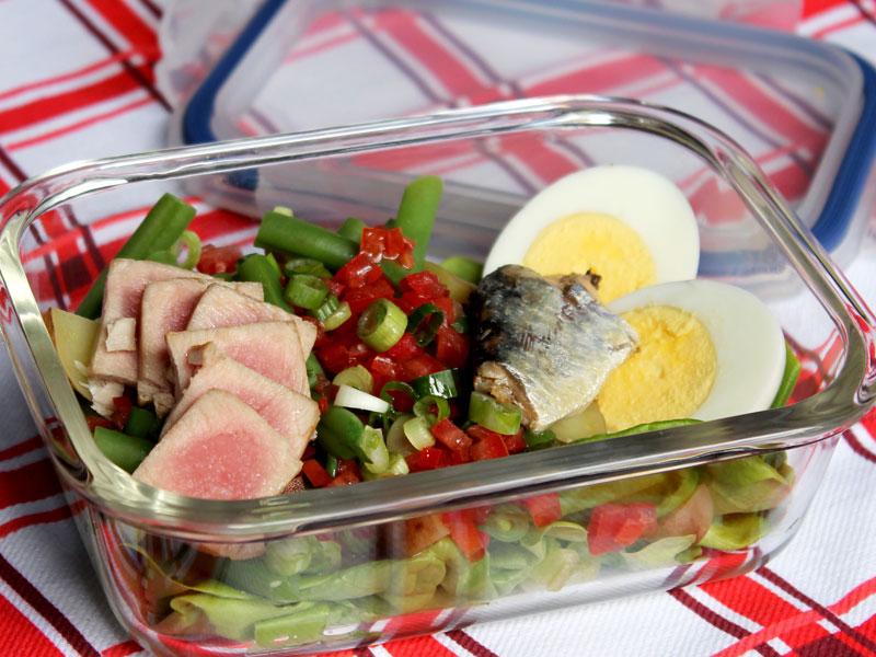 Reinvented Niçoise Salad