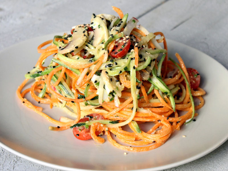 Vegetable Spaghetti Salad
